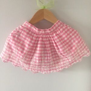 The Gap x Sarah Jessica Parker Gingham Baby Skirt
